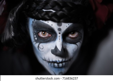 """Catrina I. The Catrina is a character of the mexican popular culture that represent the death and is part of the collective imaginary that refers to the celebration of the """"Day of the Dead""""."""