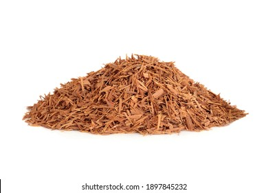 Cats claw bark herb used in herbal medicine to treat viral infections, peptic ulcers, gastritis, hemorrhoids, peptic ulcers and can boost the immune system. Uncaria tomentosa.