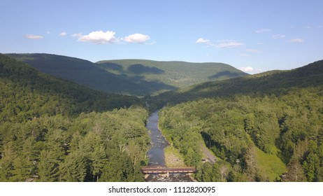 Catskill Mountains around Phoenicia, NY