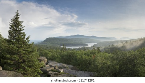 Catskill Mountains, North/South Lakes, Katterskill High Peak and Roundtop Mtn