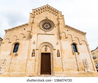 Cattedrale di Maria Santissima della Bruna, in Matera, Italy.