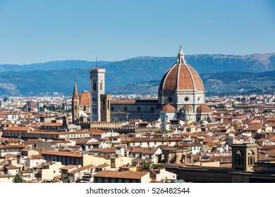 The Cattedrale di Santa Maria del Fiore in Florence, Italy