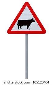 Cow Crossing Sign Images Stock Photos Vectors Shutterstock