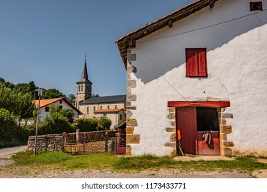 Cattle town in the French navarre and in the vicinity of Saint Palais. Pyrenees-Atlantiques France