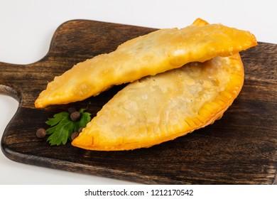 Caucasian cuisine - Cheburek with meat