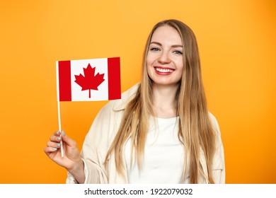 Canadian Girl Flag Images, Stock Photos & Vectors | Shutterstock