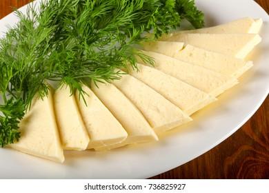 Caucasian Suluguni cheese