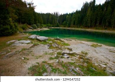Caumasee Flims Switzerland
