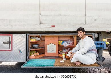 Arab Truck Driver Images, Stock Photos & Vectors | Shutterstock