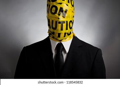 Caution Face