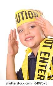 caution kid karate