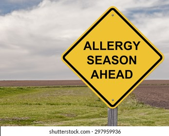 Caution Sign - Allergy Season Ahead Addition To Sign Set Series