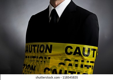 Caution Tie
