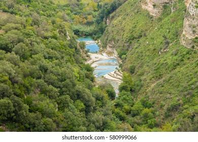 Cava Grande National Park Sicily Italy