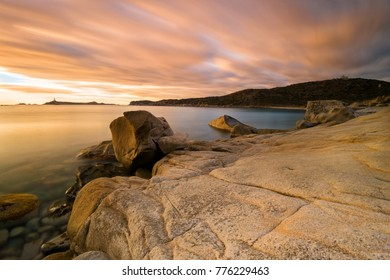 Cava Usai sunrise