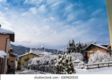 Cavalese, Val di Fiemme, Trentino Alto Adige, Italy, Europe