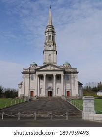 CAVAN, IRELAND - MARCH 01 2019: Cathedral of Saints Patrick and Felim in Cavan, Ireland.