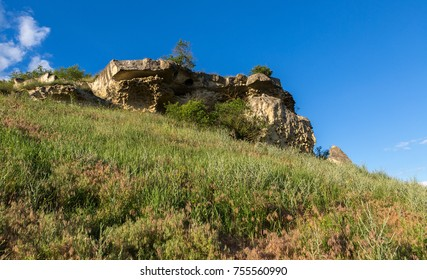 Cave city Bakla in Bakhchysarai Raion, Crimea.