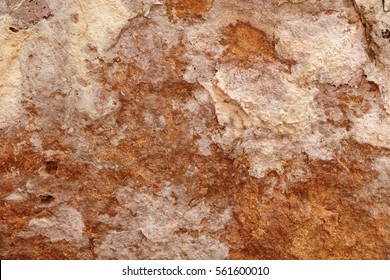 Cave Gold Rock Stone Texture or Background