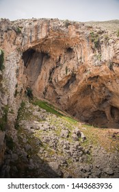 A cave in Kalymnos, Greece.