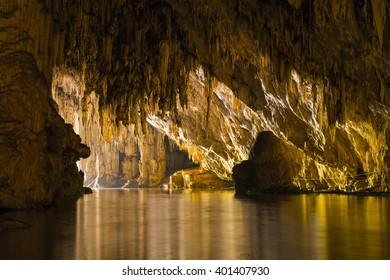 Cave Nam Lodge in  Mae Hong Son Thailand.