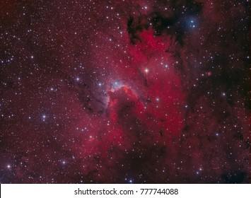 The Cave Nebula in Cepheus