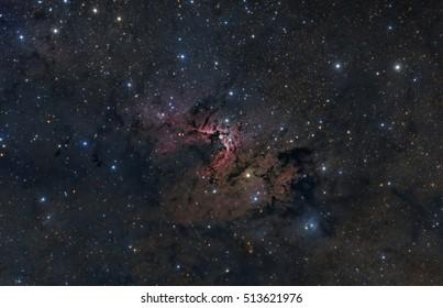 The Cave Nebula in the Constellation Cepheus
