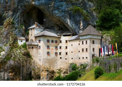 The Cave with the Renaissance Predjama Castle, Slovenia