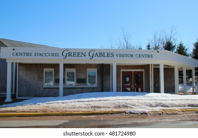 Cavendish, P.E.I, Canada, April 12th 2013: Tourist Information Center for Green Gables, used as location for Anne of Green Gables novels