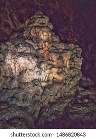 the caves of ghar el baz in jijel are a masterpiece of nature
