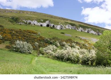 Caves of Kesh in County Sligo, Ireland