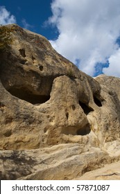 Caves in Rock City in Mt. Diablo State Park, California.