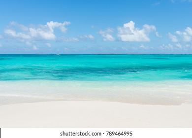 Cayo de Agua (Water Cay), one of Venezuela's favorite tourist destinations, in the Caribbean Sea