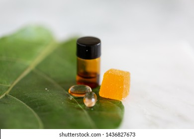 CBD Gummy Candy and Oil