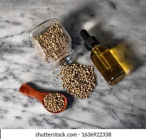 CBD Hemp Oil Tincture & Seeds