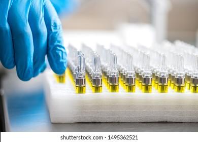CBD Vape THC Cartridge legal compliant manufacturing Cannabis Distillate pen filling