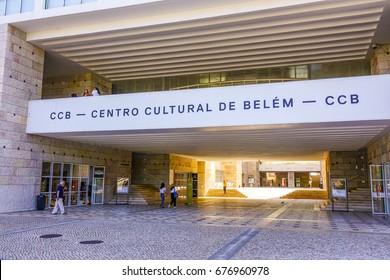 CCB in Lisbon - Cultural Centre of Belem -  - LISBON / PORTUGAL - JUNE 14, 2017