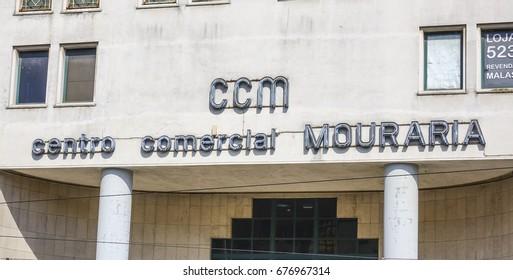 CCM Commercial Shopping Center in Lisbon - LISBON / PORTUGAL - JUNE 14, 2017