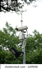 cctv camera complete with spot light