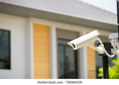 CCTV camera in home village