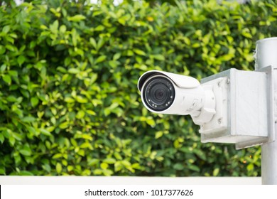 CCTV camera recording safety in our property.