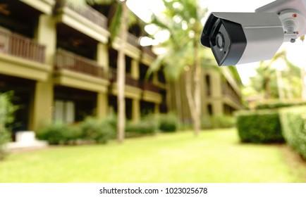 CCTV camera security in hotel