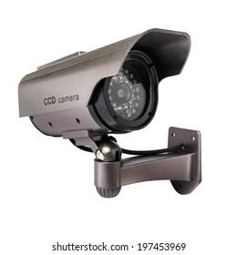 CCTV Camera of Surveillance isolate on white background