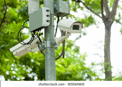 CCTV camera or surveillance operating