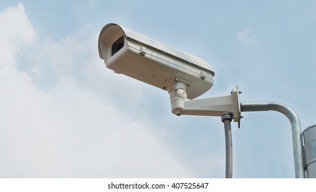 CCTV cameras installed in the park for record events