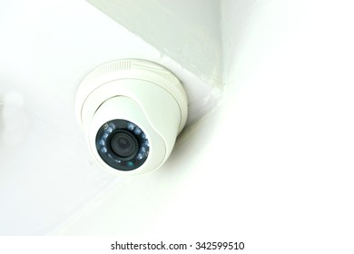 CCTV in the room and office.