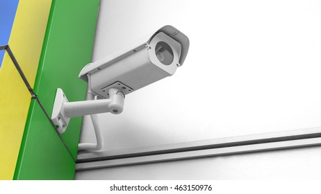 CCTV Security camera with brasil 2016 rio
