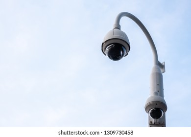 CCTV security camera for detecting offenses and secure driving safety