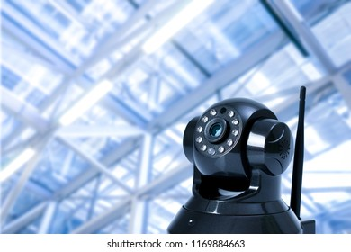 CCTV security camera in locations