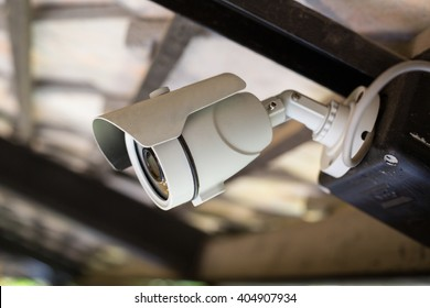 CCTV security camera record video for monitor your office
